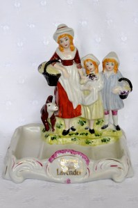 pending - yardley lavender counter figurine